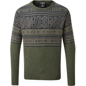 Sherpa Nathula Crew Sweater Men mewa green